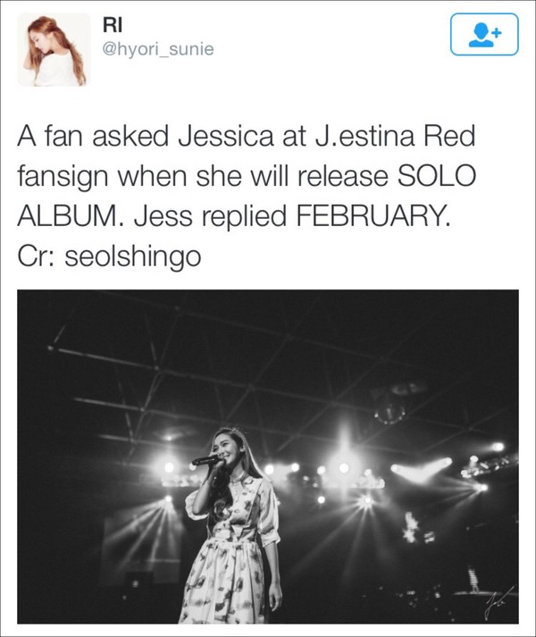 fan nao loan truoc thong tin jessica sap tung solo album 1