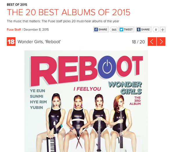 reboot wonder girls lot top 20 album phainghe cua nam 2015 2