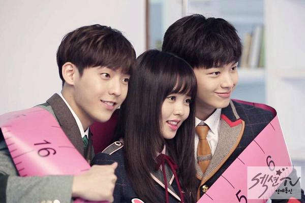 kim so hyun em va cac anh nhom btob that su rat co duyen 3