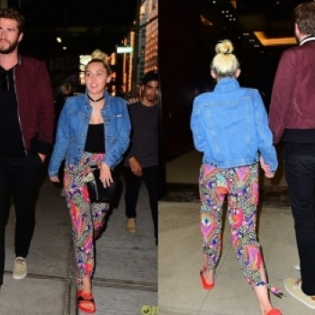 Cap doi Miley Cyrus va Liam Hemsworth tay trong tay hen ho sau tin don ket hon