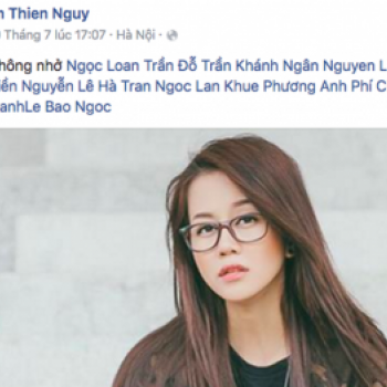"Nghi an An Nguy ""lam lo"" Pham Huong nhung lai than thiet voi Lan Khue sau ""The Face"""