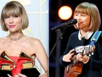 "Chien thang thuyet phuc AGT thuoc ve ""Ban sao Taylor Swift"""