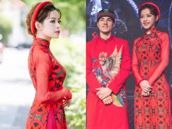 Chi Pu mac ao dai don tay dua lung danh 9 lan vo dich the gioi