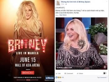 Britney Spears bat ngo di tour chau A, tin don den Viet Nam la su that?