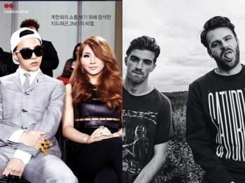 The Chainsmokers nghe cuc nhieu Kpop va thich Big Bang, CL