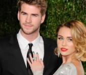 Miley Cyrus tai dinh hon cung Liam Hemsworth