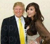 Vo Hoang Yen khoe anh chup cung ty phu Donald Trump cach day 7 nam
