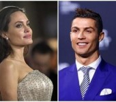 Cristiano Ronaldo dong phim cung Angelina Jolie