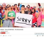 "Sau ""Baby"", Justin Bieber co MV thu 2 can moc 1 trieu dislike tren Youtube"